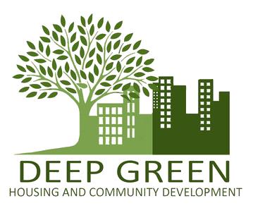 Deep Green Housing & Community Development Logo