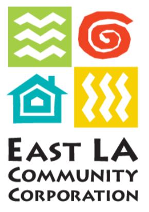East LA Community Corporation Colorful Logo